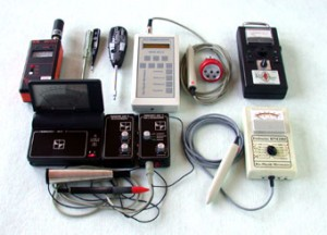 Geräte zur Ortung von Elektrosmogh und Erdstrahlen